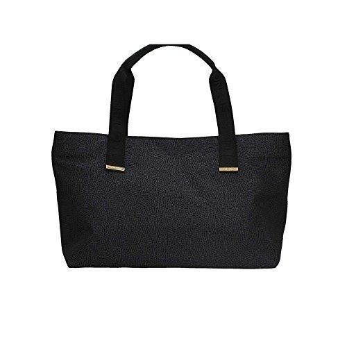 Borbonese 934226296 Shopping Bag Donna Nero