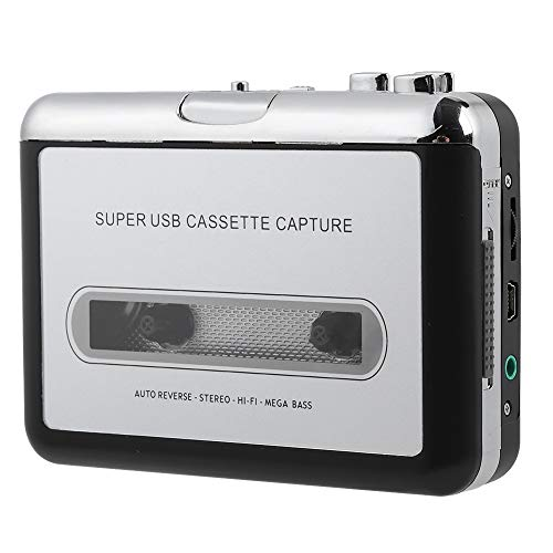 Vbestlife Cinta Cassette Portátil Grabador Reproductor