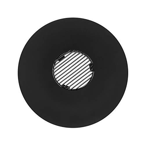 Blumfeldt Heat Disc Plancha Circular con Parrilla - Diámetro de 57 cm, Plancha esmaltada, Parrilla...