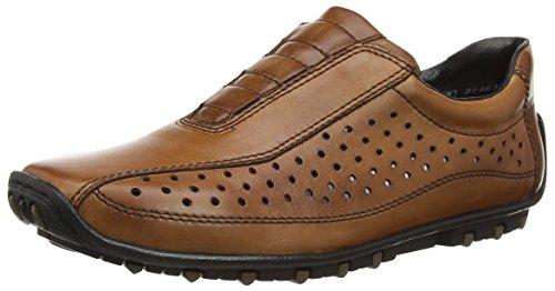 Rieker - 08979-24, Mocassini Uomo Marrone (Brown (Brandy/Peanut))