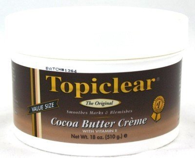Topiclear Cocoa Butter Creme 18 oz. Jar (Pack of 8)
