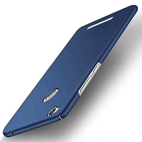 """WOW Imagine(TM) All Sides Protection """"360 Degree"""" Sleek Rubberised Matte Hard Case Back Cover For XIAOMI MI REDMI 3S PRIME - Blue"""