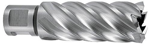 RUKO 108535E - BROCA HUECA HSSE-CO 5 CON VASTAGO WELDON (3/4)  RECTIFICADA CBN  PROFUNDIDAD DE CORTE 55 MM (35 X 19 MM)