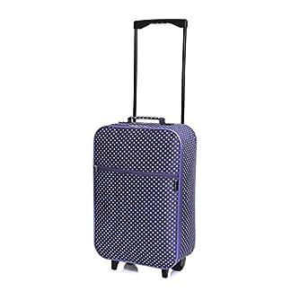 Slimbridge Barcelona equipaje de mano ligera, Lunares Púrpuras
