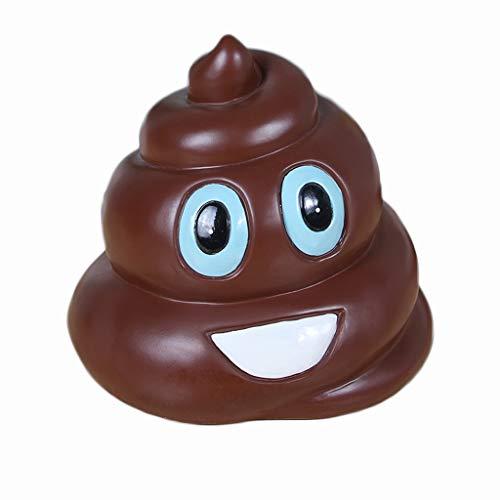 XUANLAN Smiley Emoji Money Box Poo Emoji Dinero Pot