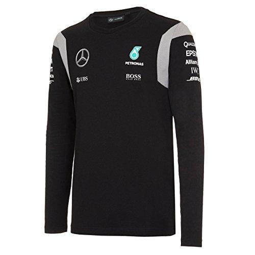 2016-mercedes-amg-f1-formula-one-equipe-officielle-pilotes-a-manches-longues-t-shirt-pour-homme-noir
