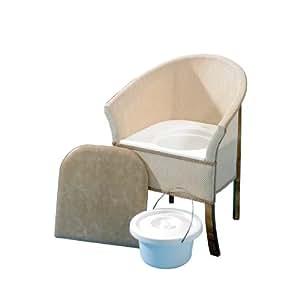 Homecraft sedia con wc da camera da letto salute e cura della persona - Sedia camera da letto ...