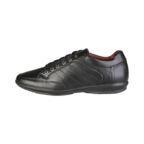 VERSACE 1969 Sneakers con cordones primavera color negro RAOUL b1e5dabf8d6