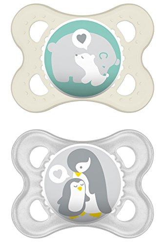 MAM Babyartikel 66542420 Original Silikon 0-6 neutral, sortiert