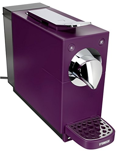 Cremesso Una Automatic Kaffeekapselmaschine, velvet purple