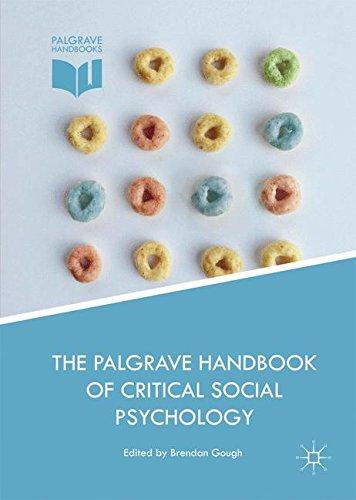 The Palgrave Handbook of Critical Social Psychology