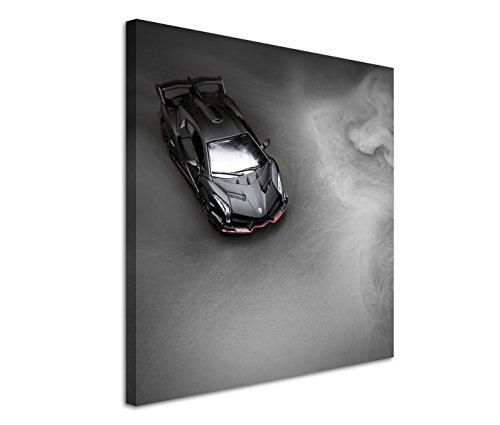 Eau Zone GmbH Fotokunst quadratisch 60x60cm Künstlerische Fotografie – Lamborghini Veneno