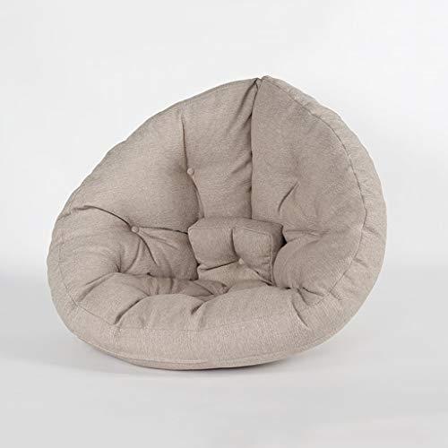 LRSFM Bean Bag Chair Indoor Outdoor Kind Erwachsene Spiel Stuhl Garten Bodenkissen (Farbe : Kaffee - Farbe)