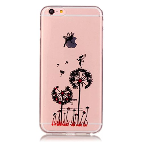 iPhone 7 Hülle, iPhone 7 Schutzhülle, Vandot Handyhülle für iPhone 7 Handytasche (4.7 Zoll) TPU Sillikon Diamant Bling Kristall Transparent Muster Case Cover Glänzend Malerei Durchsichtig Thin Pattern Color 36