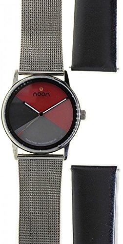 Noon Copenhagen Unisex-Armbanduhr Design 44004 Set11
