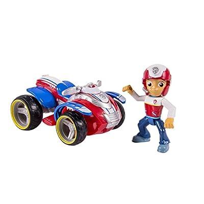 Patrulla Canina - Vehículo básico con figura Ryder y su vehículo [parent] por Spin Master