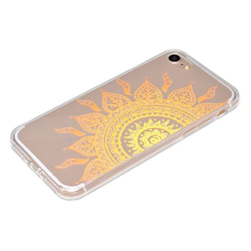 "Coque iPhone 6 Silicone Housse,Etui iPhone 6S Gel Transparente Case Cover Rosa Schleife® 4.7"" Apple iPhone 6 TPU Silicone Gel Souple Case Coque de Protection Portable Smartphone pochette Transparente  5-style"
