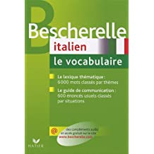 Bescherelle Italien : Le vocabulaire