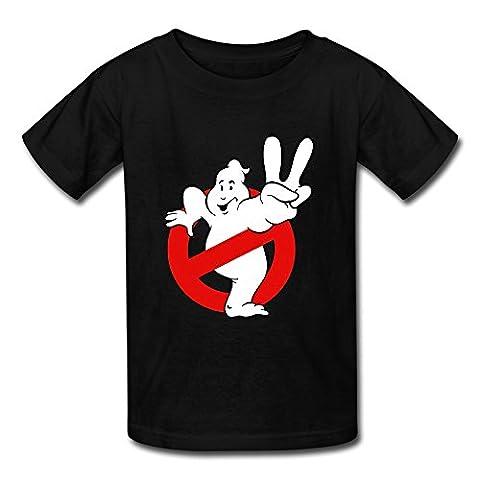 Ghostbusters Slimer Costume - Col ras du cou Cartoon logo Ghostbusters