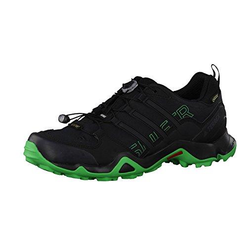 adidas Terrex Swift R Gtx, Chaussures de Trail Homme Noir (Nero Negbas/negbas/verene)