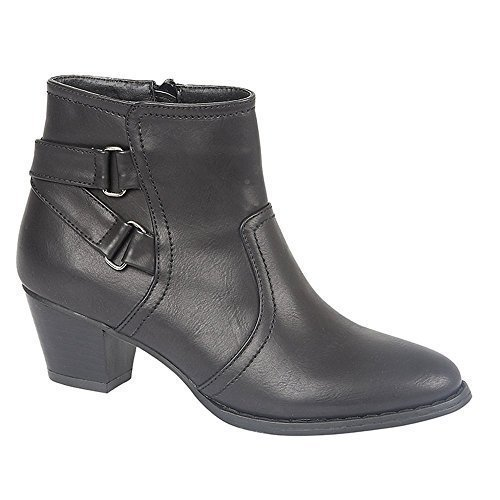 Womens Black Antonia Ankle Boots, Casual, Comfort size UK 7 / 40