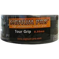 Signum Pro - Grip para Raqueta de Tenis (Pack de 30 Grips), Color Negro