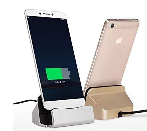 Theoutlettablet® Dock Ladegerät/Synchronisation für Smartphone mit Anschluss Type-C - Charger HOmtom HT10 / HT70