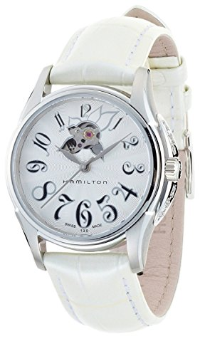 Hamilton H32355383 - Orologio da polso Donna, Pelle, colore: bianco