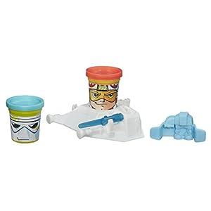 Play-Doh - Botes de plastilina, diseño Star Wars (Hasbro B0595)