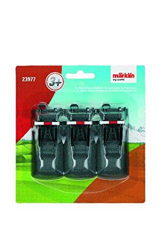 Märklin 23977 – Kunststoffgleis-Prellbock Inh 3 Stück