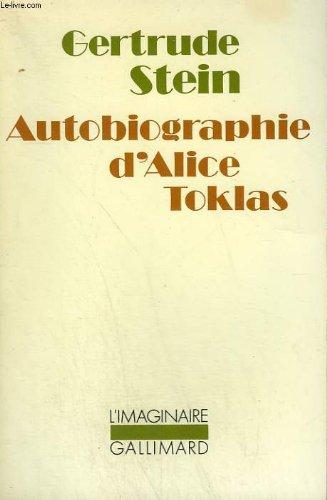 Autobiographie d'alice toklas. collection : l'imaginaire n 53