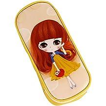 Apricot Falda Chica Simple Creativa Moda Grandes Capacidad Hermoso Lápiz