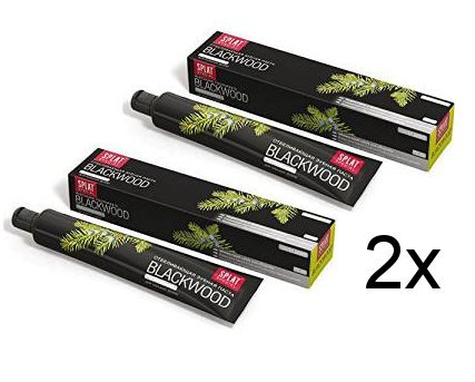 2x Splat Blackwood Whitening Zahnpasta 75ml Doppelpack (2x 75ml)