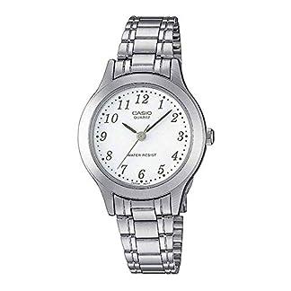 Casio Reloj Analógico para Mujer de Cuarzo con Correa en Acero Inoxidable LTP-1128PA-7BEF