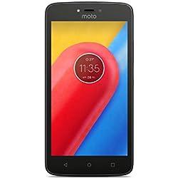 Motorola Moto C Smartphone, Memoria Interna da 16 GB, Starry Black