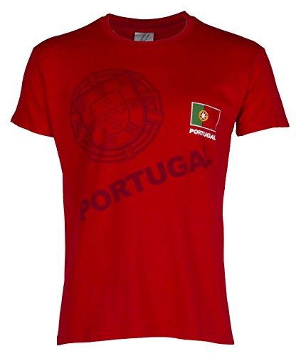 Camiseta Portugal - Colección hincha - Talla adulto