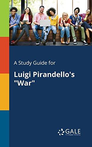 war by luigi pirandello plot