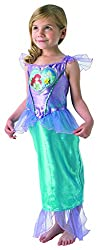 Rubie´s Loveheart Ariel Girls Fancy Dress Fairytale Little Mermaid Kids Childs Costume- Large