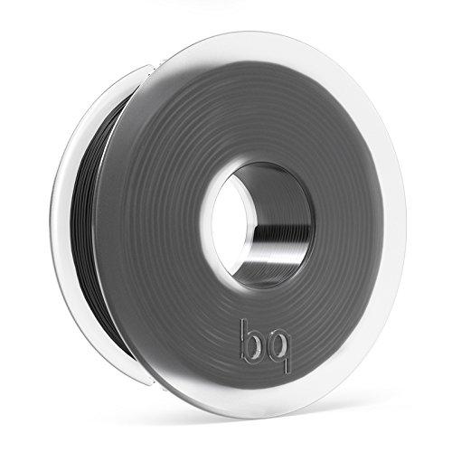 Foto de BQ - Filamento PLA de diámetro 1.75 mm, 300 g, color Coal Black