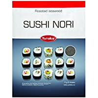 Sushi Nori Seaweed Sheets - Set of 5 - Perfect for Sushi Rolls