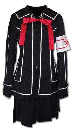 Vampire Knight Day Class Girl's School Uniform Cosplay Costume   L (Vampire School Girl Kostüm)