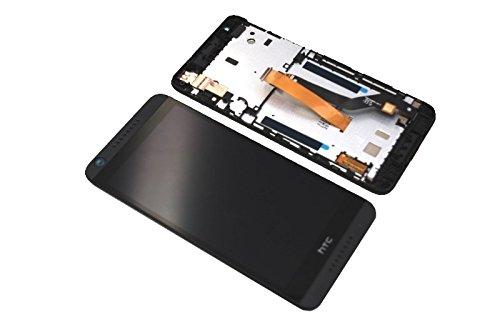 HTC Desire 626G Dual Sim LCD Display Touch Screen Front Glas Scheibe mit Rahmen Original Neu