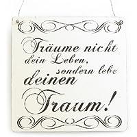 Blechschild Einstein Cooler Spruch Ein Freund ist ein Mensch .... 20 x 30 cm