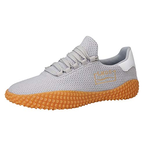 VBWER Scarpe da Corsa Scarpeda Corsa Sneakers Traspiranti Moda Lace-Up Sneakers Scarpe Casual per Uomo Donna