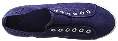 Unbekannt Damen Laceless Low-Top blau (marineblau)