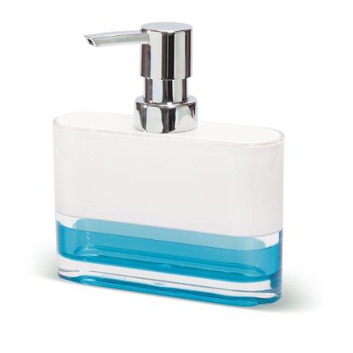 Tatkraft 4742943012226 Dispenser di sapone bianco 9.69 x 7.7 x ...