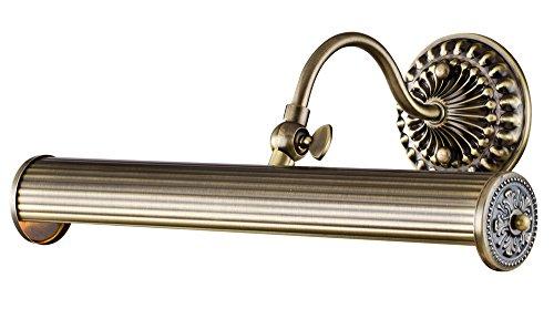 Applique pour tableau, pour miroir, Style moderne, Armature en Métal couleur bronze, pour le Salon, le Bureau, la Salle de Bain, couloir, sejour, 2 ampoules non inclu, 25 W E14 220V