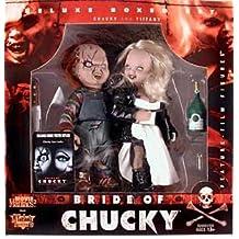 """COFFRET """"LA Fiancée de Chucky"""" - 2 Figurines CHUCKY et TIFFANY - 15 CM"""