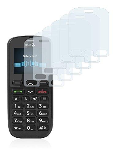 Savvies Schutzfolie für Doro PhoneEasy 508 [6er Pack] - klarer Displayschutz
