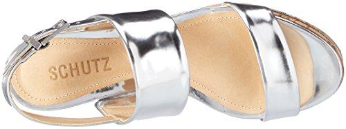 Schutz - S2-02320008s, Scarpe con cinturino Donna Silber (Prata)
